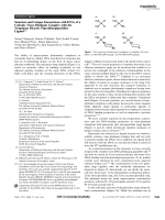 Structure and Unique Interactions with DNA of a Cationic Trans-Platinum Complex with the Nonplanar Bicyclic Piperidinopiperidine Ligand.
