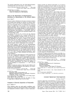 Study of the Mechanism of Dehydrogenase Reactions by Measurement of the Isotope Effects.