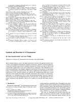 Synthesis and Reactions of 4-Chromanones.