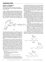 Synthesis of Fucopeptides as Sialyl Lewisx Mimetics.
