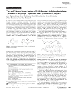 Thermal Valence Isomerization of 2 3-Diborata-1 4-diphosphoniabuta-1 3-dienes to Bicyclo[1.1