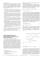 Thermally Induced Redox Reaction of Carbonyl Compounds and Alcohols in a Radical Chain Reaction  Comproportionation to Two Hydroxyalkyl Radicals.