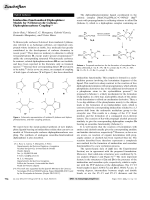 Imidazoline-Functionalized Diphosphines  Models for N-Heterocyclic CarbeneЦDiphosphinocarbene Coupling.