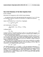 Non-trivial Solutions of the Bach Equation Exist.
