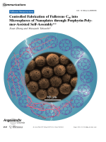 Controlled Fabrication of Fullerene C60 into Microspheres of Nanoplates through Porphyrin-Polymer-Assisted Self-Assembly.