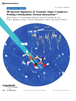 IR-Spectral Signatures of AromaticЦSugar Complexes  Probing CarbohydrateЦProtein Interactions.