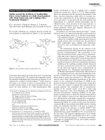 Studies toward the Synthesis of Azadirachtin  Part 1  Total Synthesis of a Fully Functionalized ABC Ring Framework and Coupling with a Norbornene Domain.