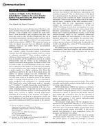 Synthesis of Highly Active Ruthenium Indenylidene Complexes for Atom-Transfer Radical Polymerization and Ring-Opening-Metathesis Polymerization.