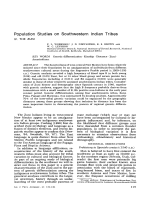 Population studies on Southwestern Indian Tribes. IV. The Zuni