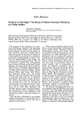 Science or sacrilege  The study of native American remains  by Phillip Walker.
