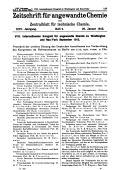 VIII. Internationaler Kongre fr angewandte Chemie zu Washington und Neu-York September 1912