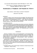 Stoichiometry of sulphuric acid sorption by nylon 6.