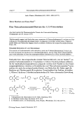 ber Thiocarbonsureamid-Derivate des 123-Trioxoindans.