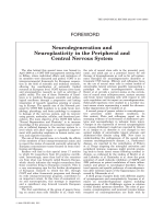 Neurodegeneration and Neuroplasticity in the Peripheral and Central Nervous System.