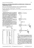 Hydrazones of [2-Benzothiazolylthioacetyl]hydrazineSynthesis and Antimicrobial Activity.
