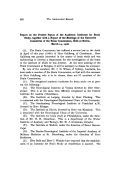 Report on the present status of the Academic Institutes for brain study  together with a report of the meetings of the executive committee of the brain commission  held at Berlin  March 14  1908.