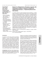 Search for Histamine H3 Receptor Ligands with Combined Inhibitory Potency at Histamine N-Methyltransferase╨Я ░-Piperidinoalkanamine Derivatives.