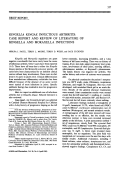 kingella kingae infectious arthritiscase report and review of literature of kingella and moraxella infections.
