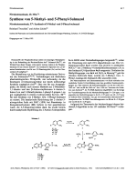 Nitroketenaminal 10.Mit. Synthese von 5-Methyl- und 5-Phenyl-Sulmazol. Nitroketeneaminals XSynthesis of 5-Methyl- and 5-Phenyl-sulmazol