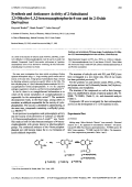 Synthesis and Anticancer Activity of 2-Substituted 23-Dihydro-132-benzoxazaphosphorin-4-one and its 2-Oxide Derivatives.