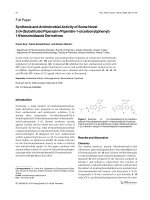 Synthesis and Antimicrobial Activity of Some Novel 2-[4-Substituted Piperazin-Piperidin-1-ylcarbonylphenyl]-1H-benzimidazole Derivatives.