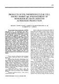 Products of polymorphonuclear cell injury inhibit IgG enhancement of monosodium urate-induced superoxide production.