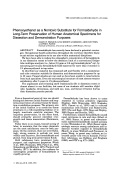 Phenoxyethanol as a nontoxic substitute for formaldehyde in long-term preservation of human anatomical specimens for dissection and demonstration purposes.