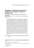 Stimulation of vitellogenin production by methoprene in prepupae and pupae of manduca sexta.