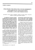 Strategies for Reducing Excess Morbidity and Mortality in Blacks With Systemic Lupus Erythematosus.