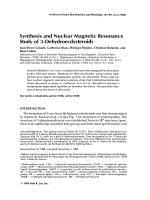 Synthesis and nuclear magnetic resonance study of 3-dehydroecdysteroids.