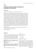 Thalidomide as a Multi-Template for Development of Biologically Active Compounds.