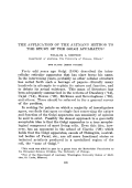The application of the Altmann method to the study of the Golgi apparatus.